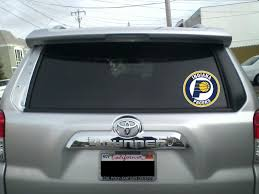 Indiana Pacers Circle Logo Vinyl Decal Sticker 5 Sizes Sportz For Less