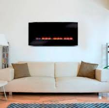 realistic flame electric fireplace