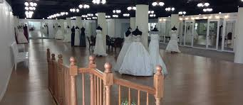 wedding gown at davids bridal