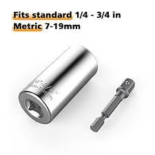 7mm 19mm universal sockets