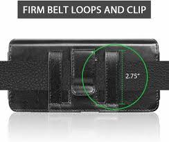 for QMOBILE NOIR A15 3D Case Brown Belt ...