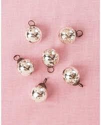 luna bazaar mini mercury glass ball
