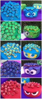 Disney Inside Out Cake Party How To Organize