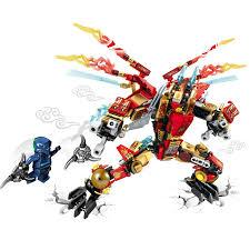 Sembo S8402 (NOT Lego Ninjago Movie Double Wings Hellfire Dragon ...