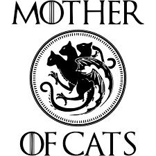 Mother Of Cats Vinyl Car Decal 904 Custom