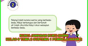 Get Kunci Jawaban Tema 2 Kelas 6 Rukun Dalam Perbedaan Halaman 3 Images