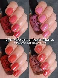 Wacky Laki: OPI Vintage Minnie Mouse Collection
