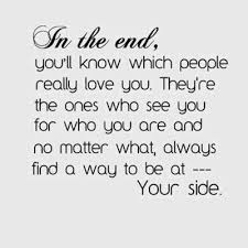 thank you to my family and my true friends for always being there
