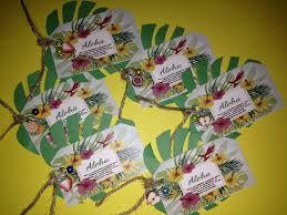 Ideas De Tarjetas De Invitacion Para Fiesta Hawaiana