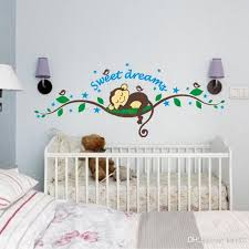 New Funny Monkey Wall Stickers For Kids Rooms Living Room Home Decor Wall Decor Mural Art Wall Stickers For Bedroom Wall Stickers For Bedrooms From Kity12 1 51 Dhgate Com
