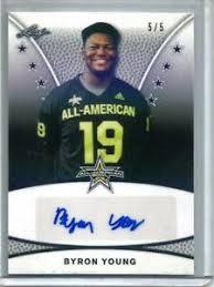 Byron Young 2019 Leaf All-American Bowl Autograph #5/5 | eBay