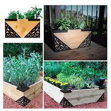 gardenframe raised garden bed kit