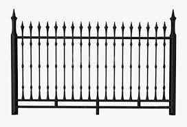 Free Png Download Transparent Black Iron Fence Clipart Transparent Fence Clipart Free Transparent Clipart Clipartkey