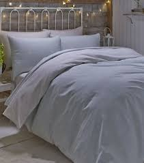 polka dot single bedding duck egg