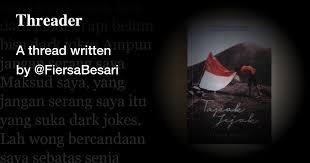 a th written by fiersabesari instagram sudah bisa dark mode