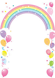 Balloon And Rainbow Ship Frame Em 2020 Decoracao Chuva De Amor