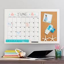 Dry Erase Calendar Corkboard Wall Organizers Pottery Barn Teen