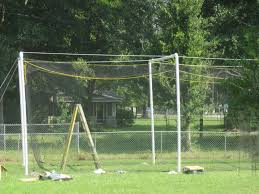 building a home batting cage