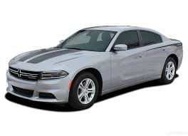 2015 2021 Dodge Charger Stripes Hood Decals Recharge Combo Vinyl Graphics Auto Motor Stripes Decals Vinyl Graphics And 3m Striping Kits