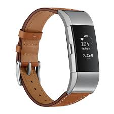 fitbit charge 2 premium leather strap