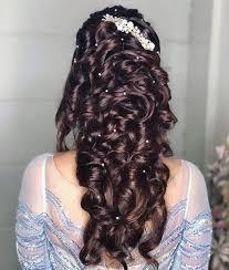 pre wedding hairstyles for mehndi haldi