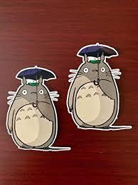 2 Of My Neighbor Totoro Car Window Laptop Vinyl Decals Stickers Combo Set Fandom Shop