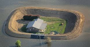 flood zone build homemade levees