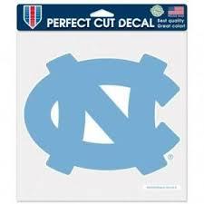 North Carolina Tar Heels 8 X8 Perfect Cut Car Decal New Auto Sticker Emblem 32085803443 Ebay
