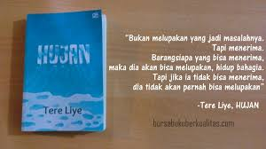 hujan book review loving your beautiful life