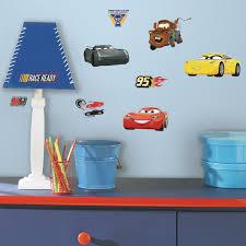 Room Mates Disney Pixar Cars 3 Peel And Stick Wall Decal Reviews Wayfair