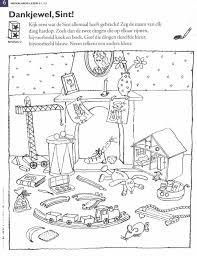 Sinterklaasthema Sinterklaas Kleurplaten En Kleuren