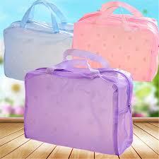 makeup bag flower design waterproof
