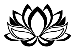 Lotus Hollow Vinyl Decal Mistically Made