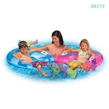 intex sit n float small blue no