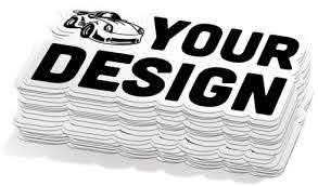 Custom Car Decals High Quality Long Lasting Vinyl Material