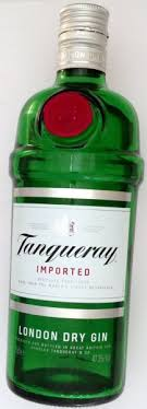 calories in tanqueray london dry gin