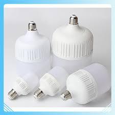 🍒Bóng đèn LED trụ tròn 10w 20w 30w 40w 50w ánh sáng trắng 🍒[Bong Den Led]