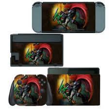 Zelda Link And Gannon Battle Nintendo Switch Skin Decal Sticker Vinyl Wrap Ebay