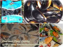 Ginataang Tahong, Mussels in Coconut ...