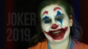 joker edian makeup joaquin phoenix