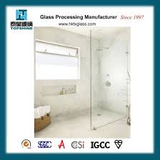 china supplier shower glass partition