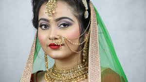 indian bride bridal makeup henna