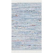 safavieh rag rug light blue