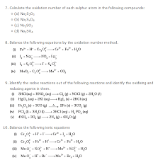 class 11 chemistry chapter 8 redox reaction