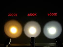 Đèn pin LED ánh sáng vàng Neutral White là gì, Cool White là gì ...