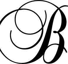 Enchantingly Elegant Letter B Wall Decal Reviews Wayfair