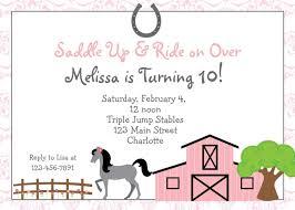 Free Printable Horse Riding Party Invitations Imagenes Para