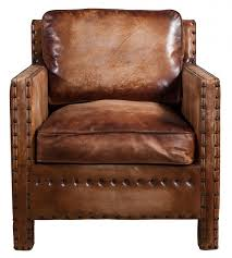 scabrous distressed brown leather