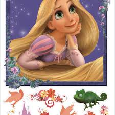 Tangled Rapunzel Peel Stick Giant Wall Decals Peel And Stick Decals The Mural Store