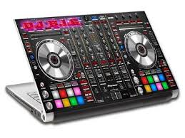 Dj Turn Tables Music Personalized Laptop Skin Decal Vinyl Sticker Any Name L734 Ebay